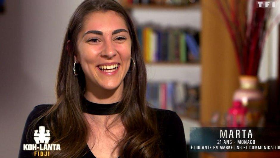 Découvrez Marta, nouvelle aventurière de l'émission (VIDEO)