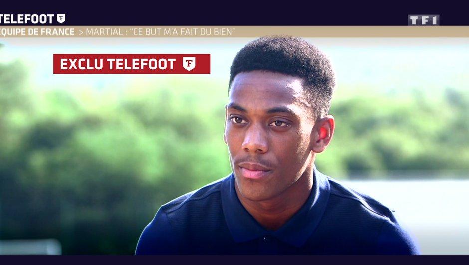 "[Exclu Téléfoot] Martial : ""un euro difficile"""