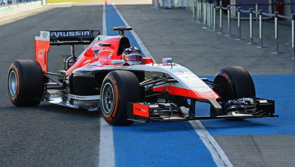 F1 2014 : La Marussia MR03 présentée et en essais à Jerez