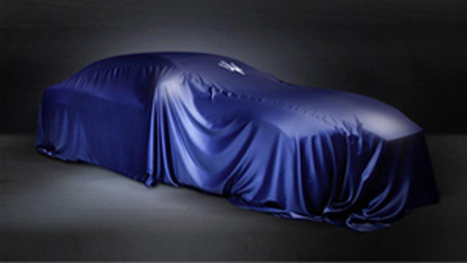 Maserati Ghibli 2013 : le teaser avant Shanghai