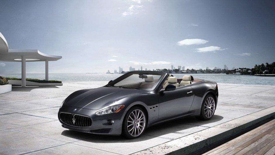 Salon de Francfort 2009 : Maserati Gran Cabrio