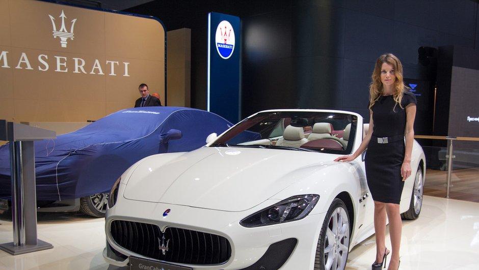 Mondial de l'Auto 2012 : une nouvelle Maserati en approche ?