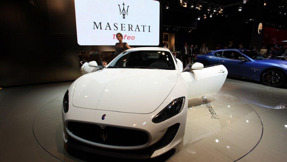 La Maserati GranTurismo MC Stradale passe de la piste à la route au Mondial de l'Auto