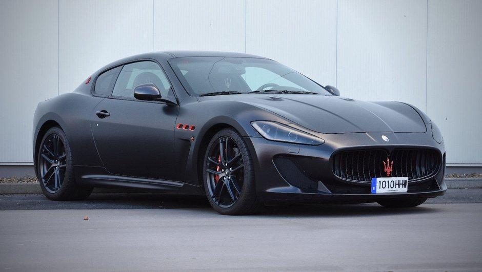 Occasion du Jour : une Maserati GranTurismo ex-Lionel Messi à vendre ?