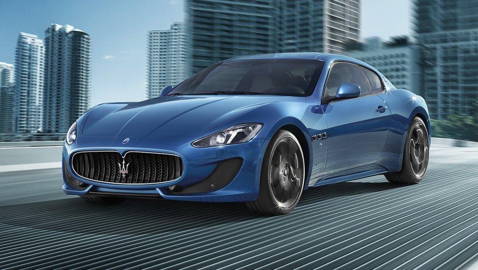 Salon de Genève 2012 : Maserati GranTurismo Sport avec 460 chevaux