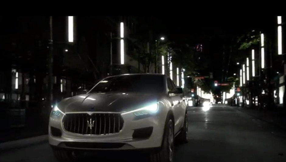 Découvrez la vidéo officielle du Maserati Kubang