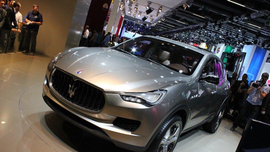 Salon de Francfort 2011 : Maserati Kubang Concept, 2è édition