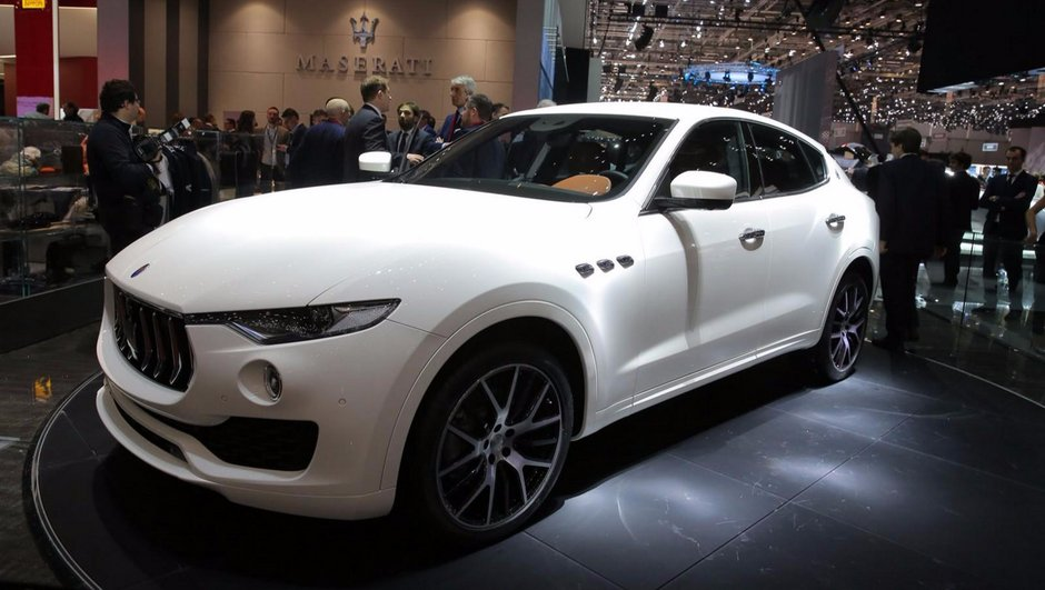 Salon Genève 2016 : Maserati Levante, un SUV italien jusqu'à 430 chevaux