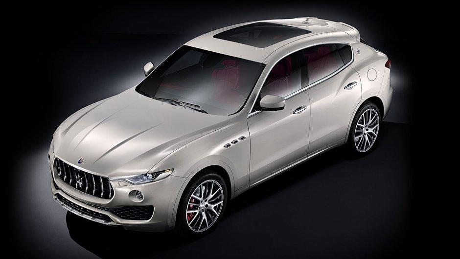 Maserati Levante : le Trident inaugure son premier SUV