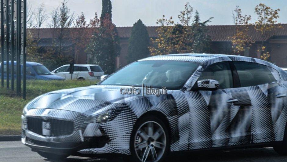 Scoop : La future Maserati Quattroporte 2013 se précise !