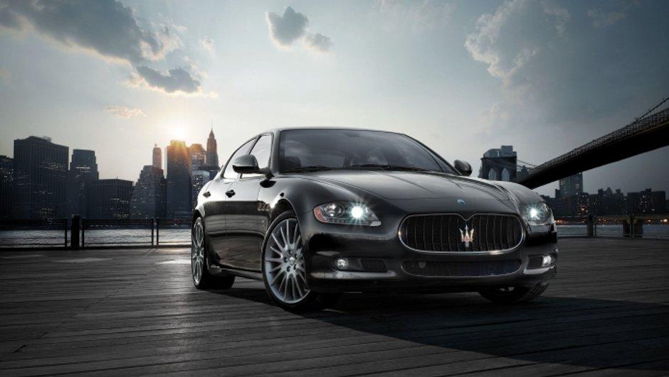 Salon de Détroit : Maserati Quattroporte Sport GT S