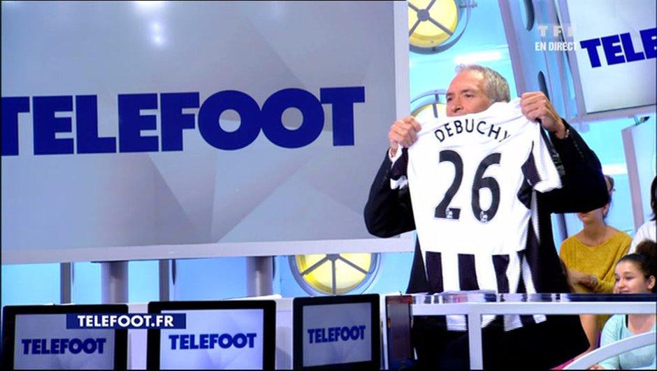 L'addition Téléfoot : Gagnez le maillot de Mathieu Debuchy (Newcastle) !