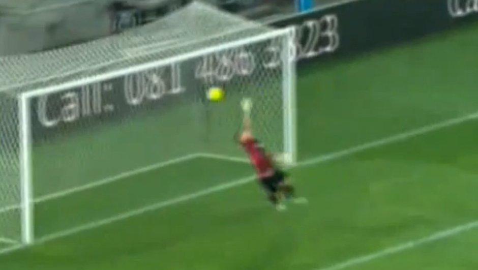 Insolite : un but marqué de 40 mètres ! (vidéo)