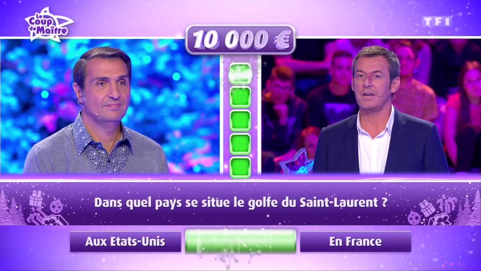 Matthieu remporte 10 000 euros de gains, une très jolie somme
