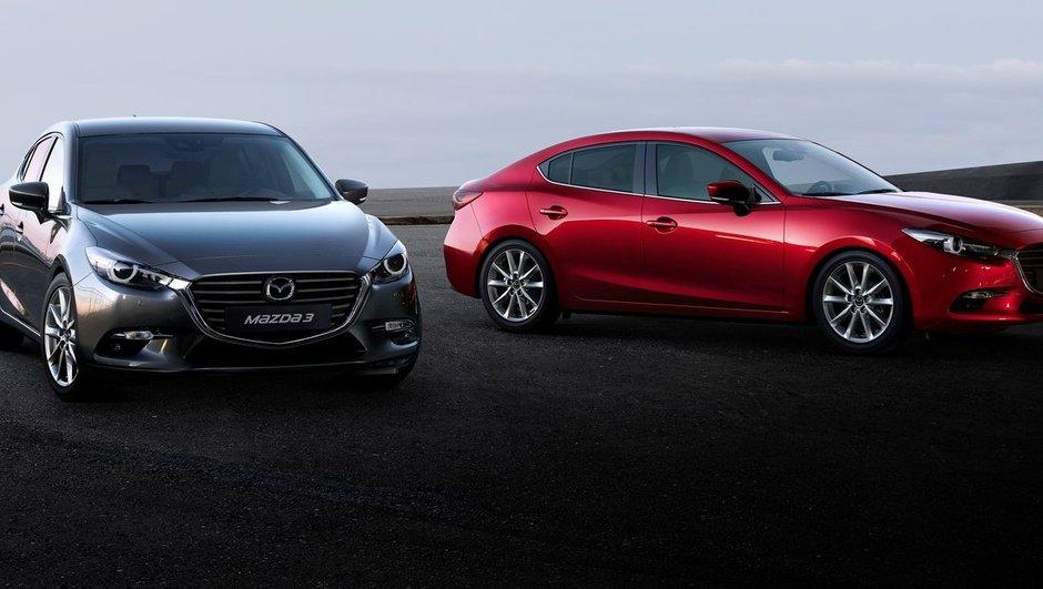 La Mazda 3 restylée lancée au Japon et au Canada
