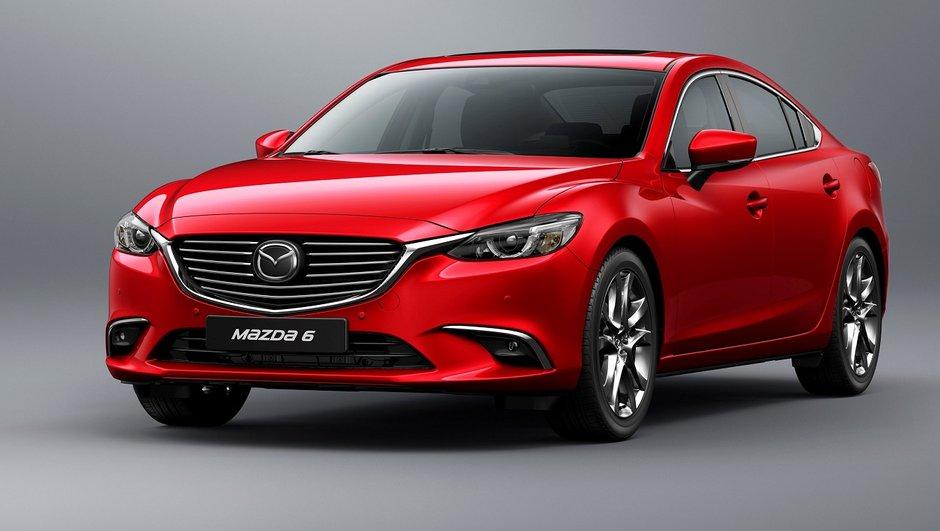 La Mazda 6 2017 sera lancée en Europe cet automne