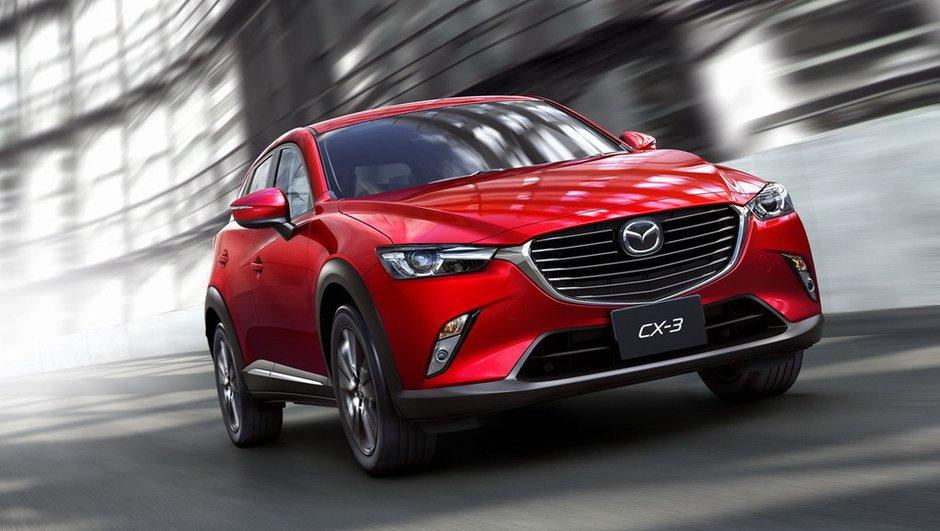 Mazda CX-3 2015 : le rival des Juke, 2008 et Captur s'invite à Los Angeles