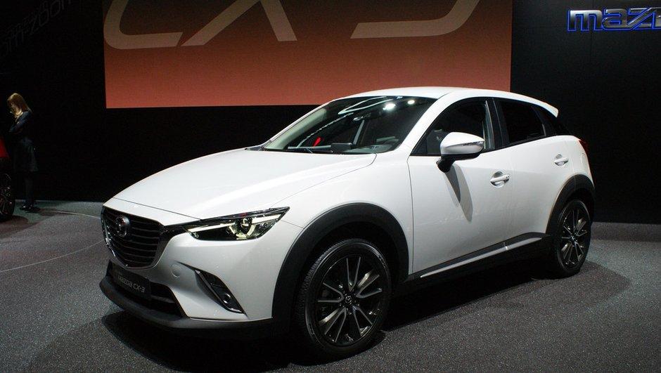 Salon de Genève 2015 : le Mazda CX-3 veut Captur-er la tendance