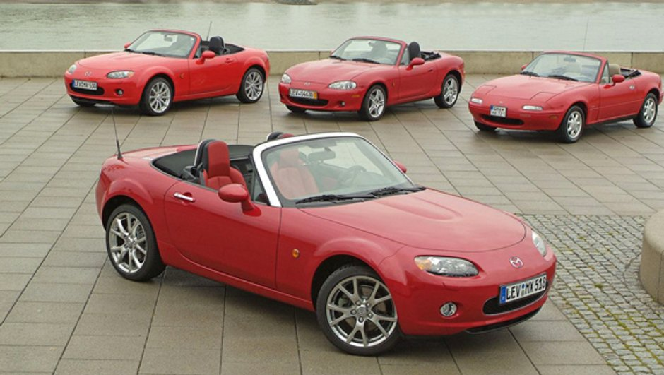Salon du Cabriolet 2009 : Mazda MX-5, déjà 20 ans