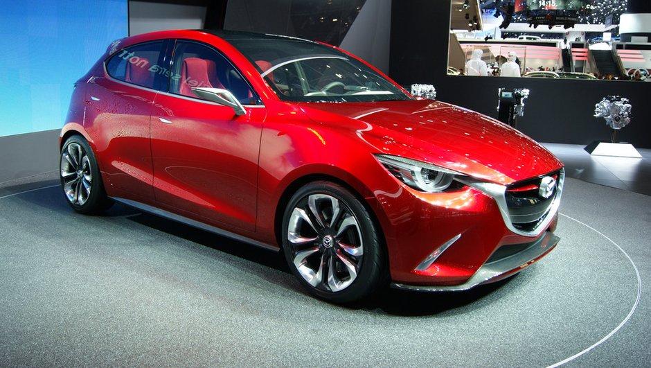 Salon de Genève 2014 : Le concept Hazumi annonce la future Mazda 2
