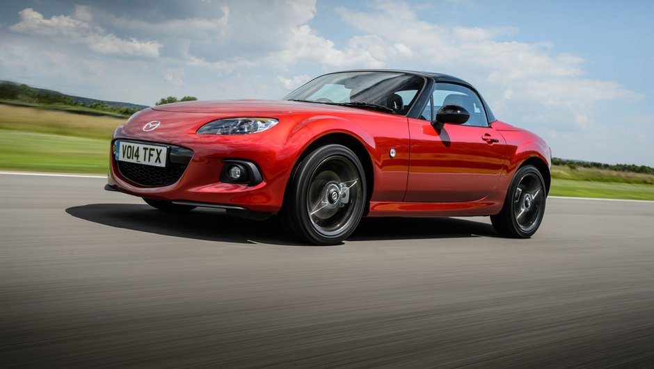 Mazda MX-5 Roadster Coupé 25th Anniversary 2014 : pour se montrer à Goodwood
