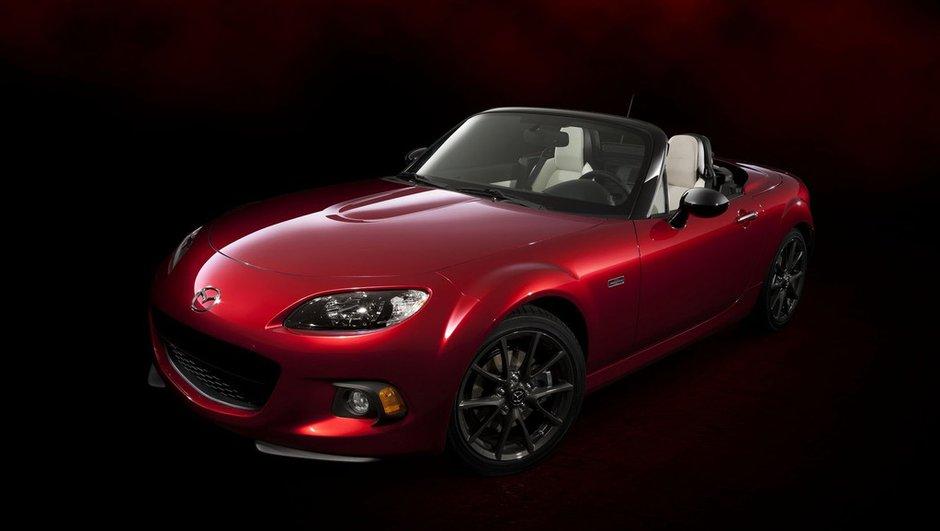 Mazda MX-5 25th Anniversary Edition 2014 : grand âge pour petit roadster