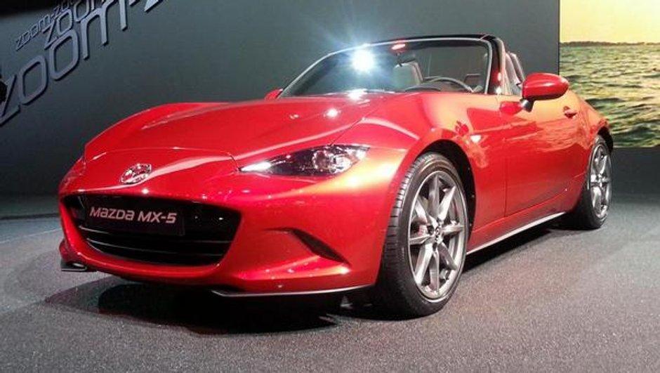Mondial de l'Automobile 2014 : Mazda MX-5, sacré coup de coeur de roadster !