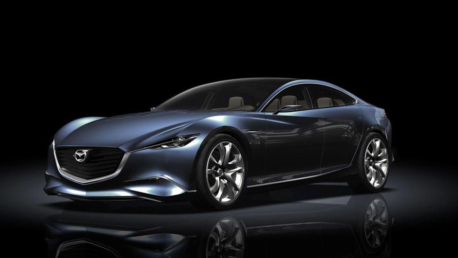 Mondial de l'Auto 2010 : Mazda Shinari, un concept-car au design ambitieux