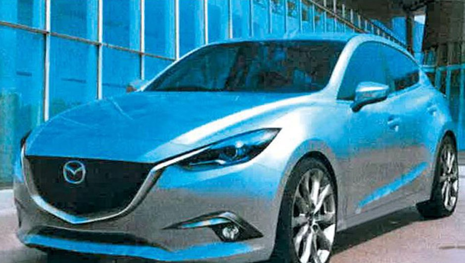 Future Mazda3 2013 : premières images et infos
