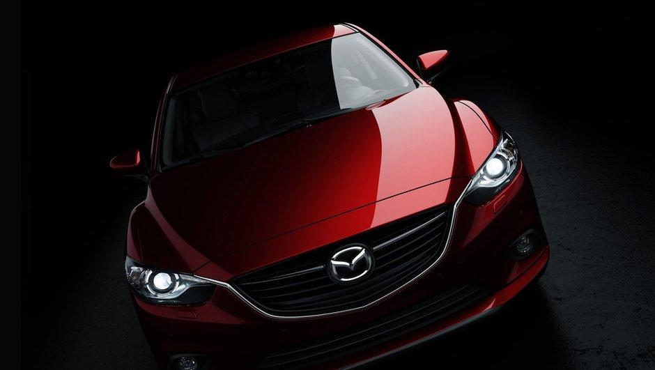 Nouvelle Mazda6 2012 : premières photos
