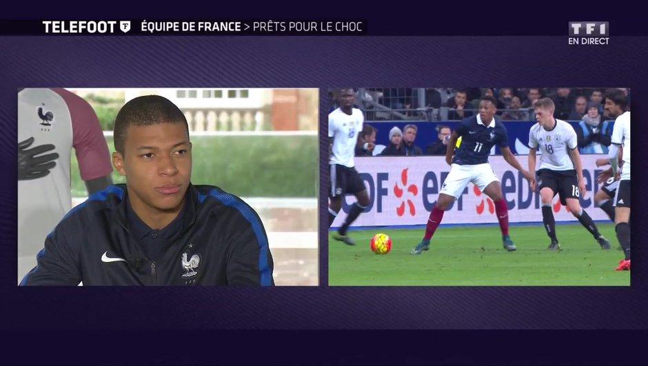 """[EXCLU Téléfoot 12/11] - Equipe de France / Mbappé : """"Ma relation avec Griezmann ? C'est quelque chose qui va se faire avec le temps"""""""