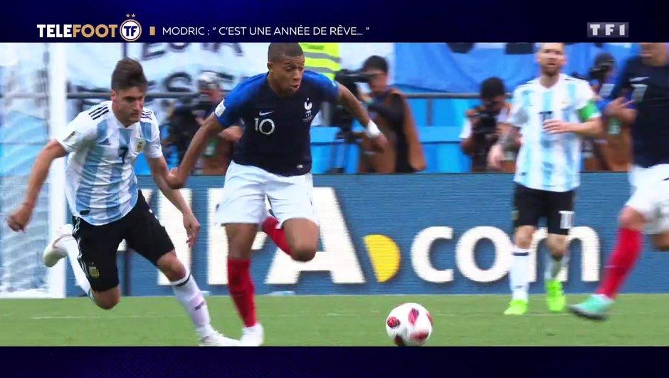 """[EXCLU Téléfoot – 9/12] - Modric : """"Mbappé a un avenir brillant devant lui"""""""