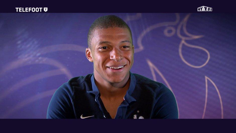"""[EXCLU Téléfoot 03/09] PSG-Kylian Mbappé : Je veux marquer l'histoire de ma ville"""""""