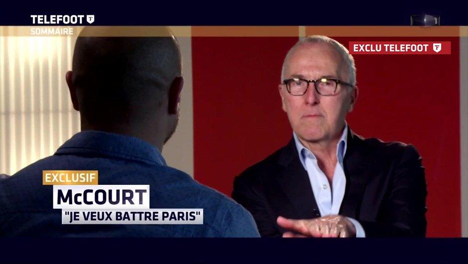 [Exclu Téléfoot] Frank McCourt : « Nous devons battre le PSG »