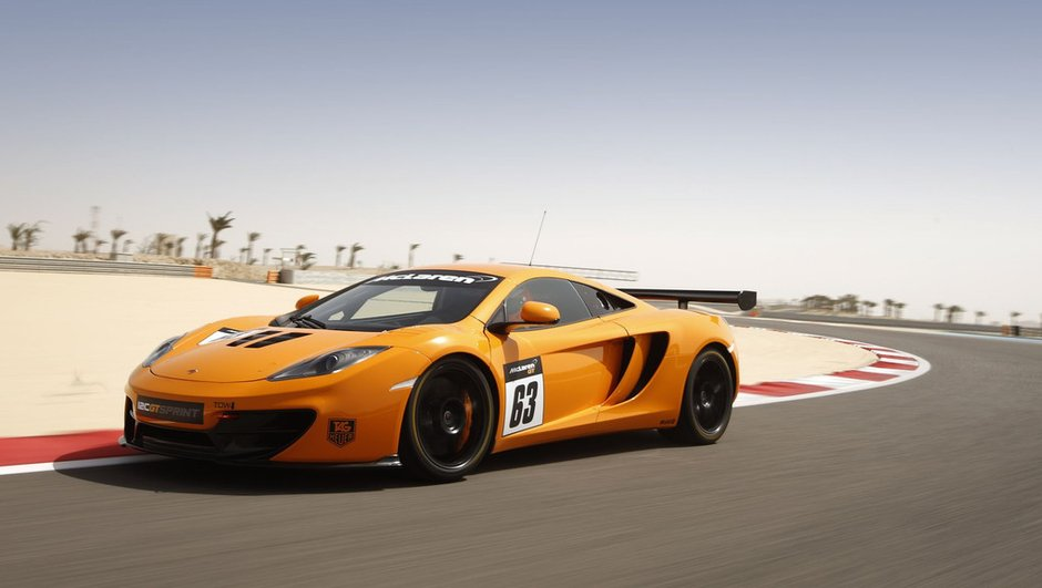 McLaren 12C GT Sprint 2013 : pour la piste seulement