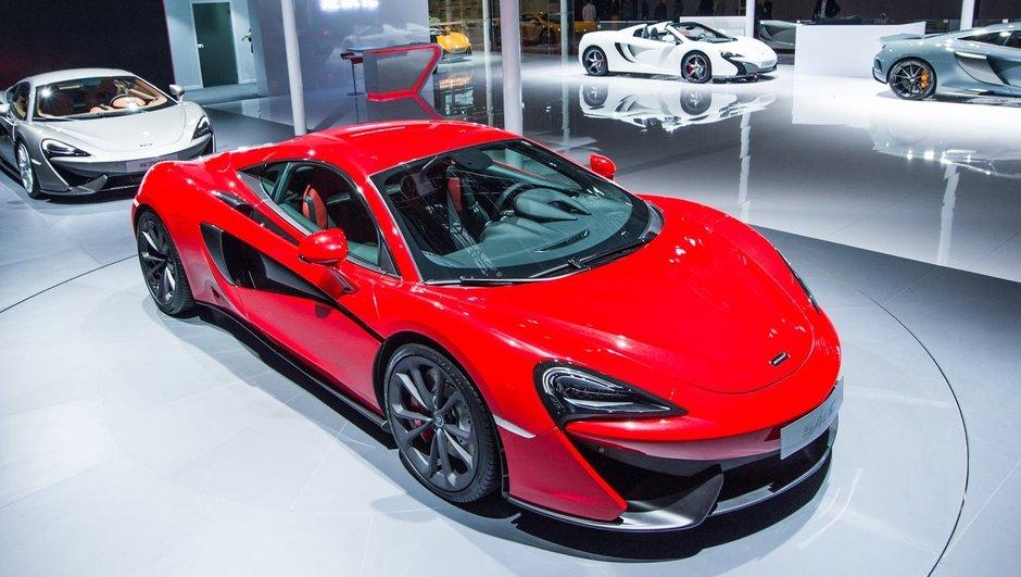 Salon de Shanghai 2015 : McLaren 540C Coupé, affiché à 161.250 euros