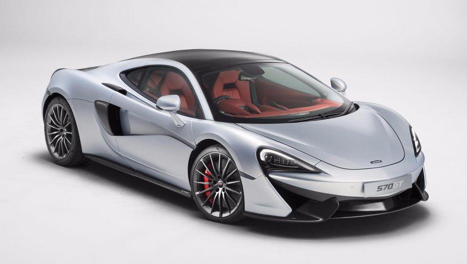 McLaren 570GT 2016 : nouvelle version confort pour la sportive