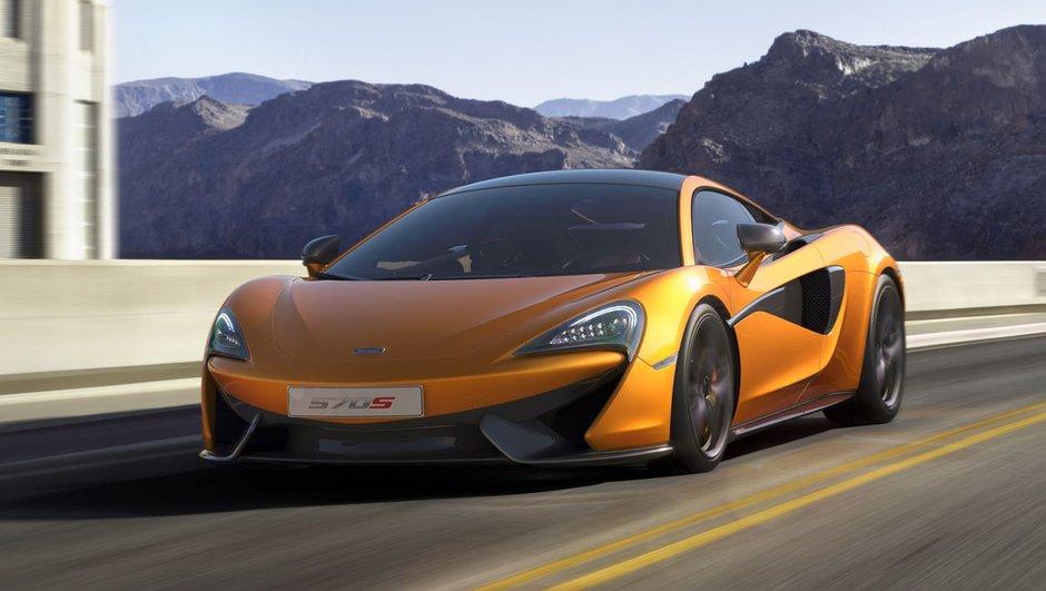 McLaren 570S Coupé 2015 : les vidéo, photos et infos officielles
