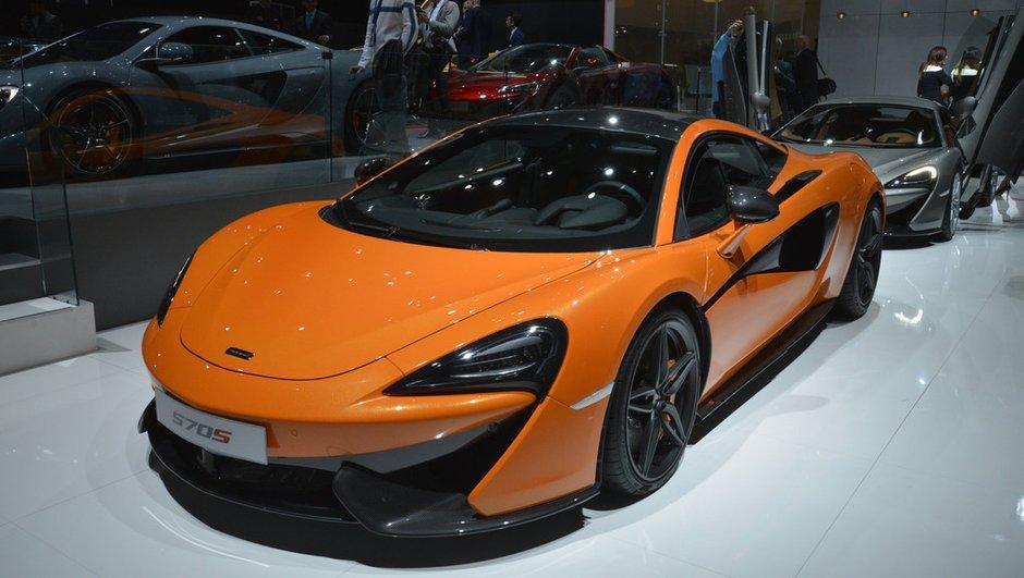 McLaren 570S Coupé : un prix de départ d'environ 170 000 euros
