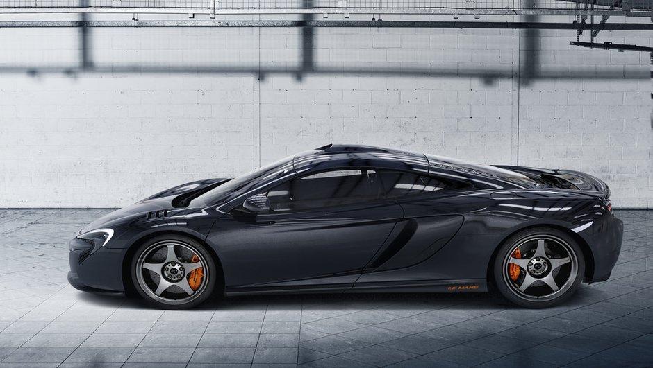 McLaren 650S Le Mans 2015 : 50 exemplaires hommage à la F1 GTR