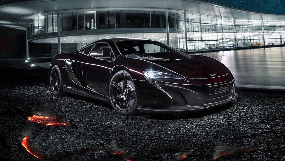 McLaren 650S MSO 2014 : la sportive britannique noir de carbone
