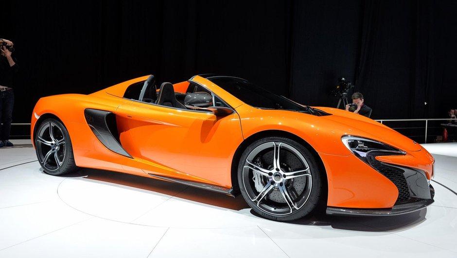 Salon de Genève 2014 : la nouvelle McLaren 650S Spider se laisse découvrir