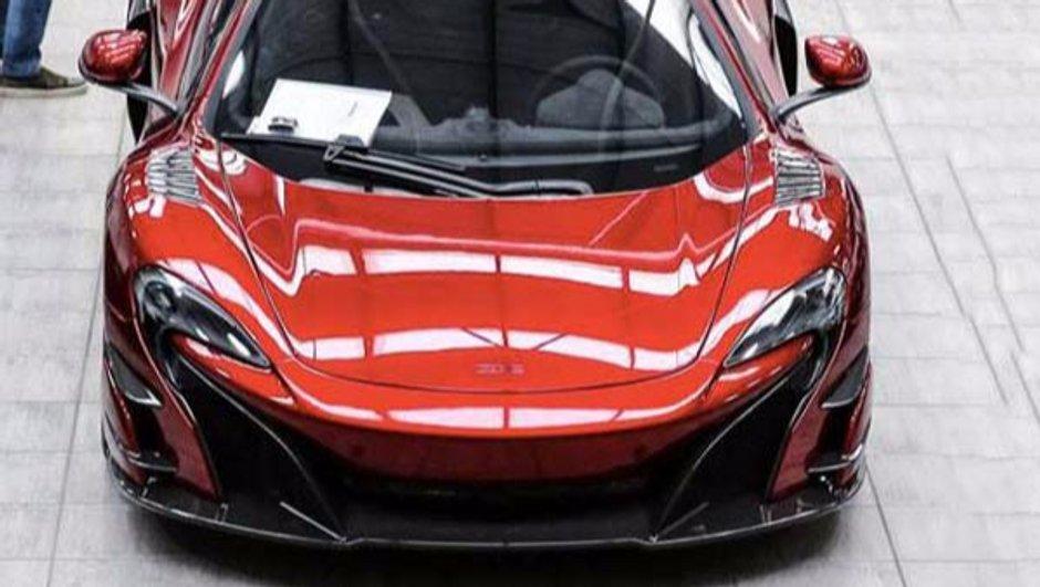 Premières images en fuite de la McLaren 688 High Sport