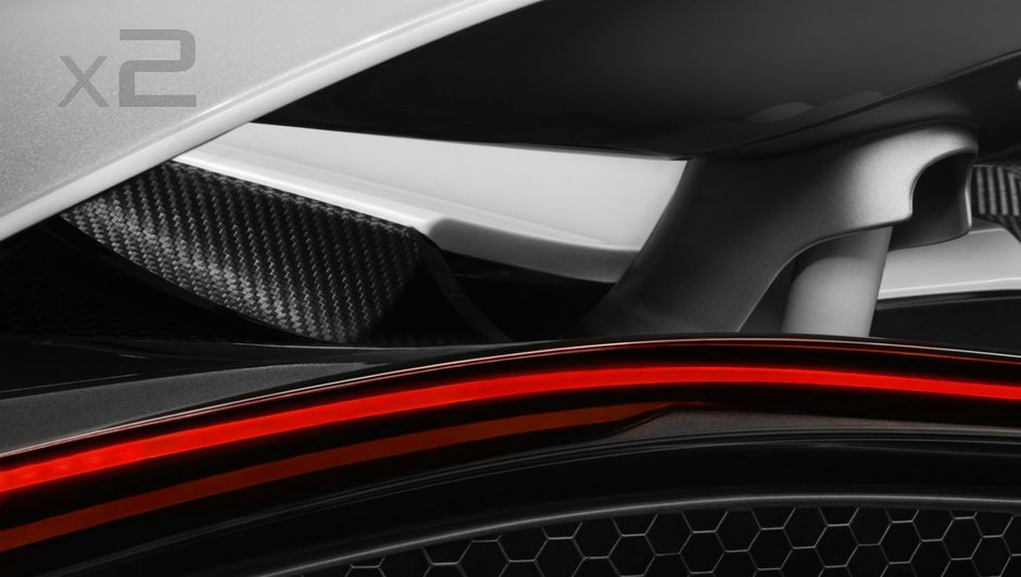 Teaser : la future McLaren Super Series dévoile son aileron actif