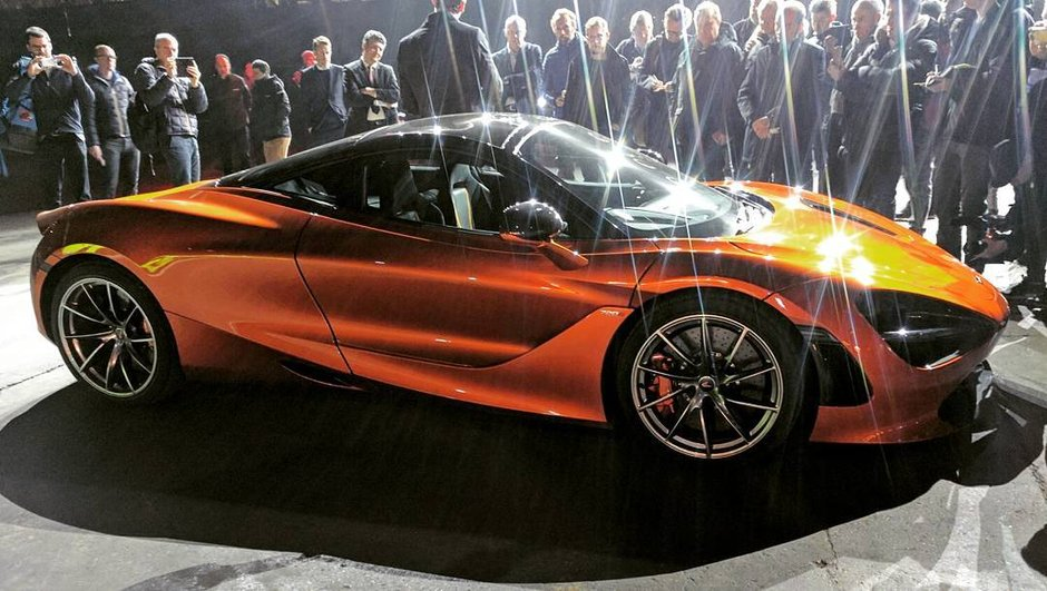 Scoop : La future McLaren 720S 2017 déjà en photo !
