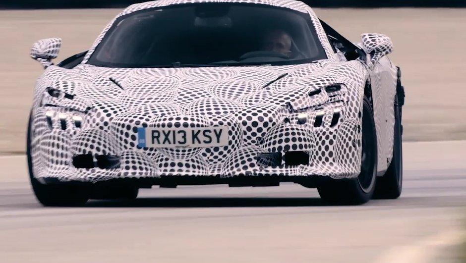 Future McLaren 720S : Vidéo, freinage et drift avant le Salon de Genève 2017