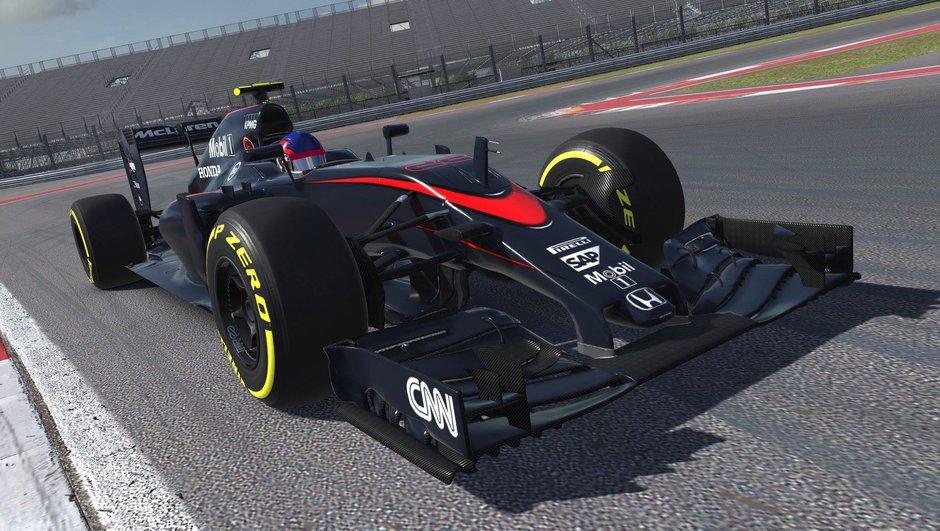 Jeu vidéo : La McLaren MP4-30 disponible le 8 décembre dans iRacing