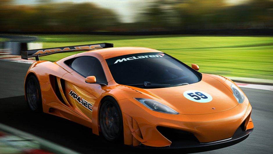 McLaren MP4-12C GT3 : officielle, et en piste l'an prochain !