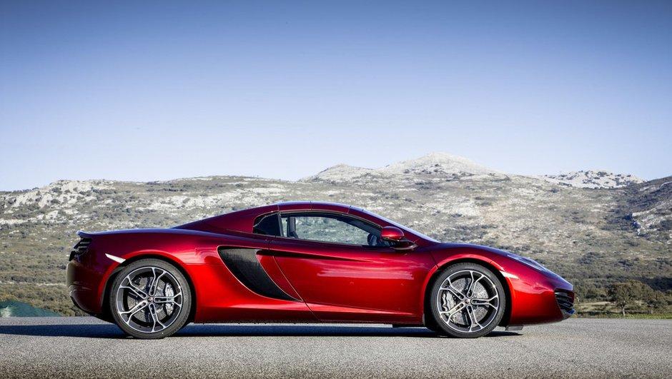McLaren P13 : la future sportive britannique en développement