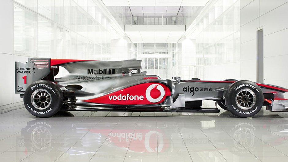 F1 : La McLaren MP4-25 présentée